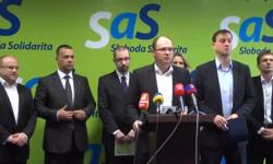 Strana SaS - vytváranie pracovných miest, boj proti korupcii