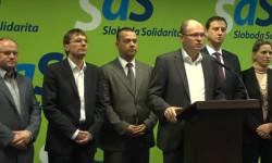 Strana SaS bude hájiť zvyšovanie osobnej slobody jednotlivca