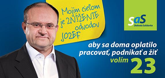 Jozef Mihál, kandidát na poslanca za SaS | Parlamentné voľby 2016