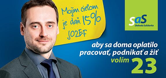 Jozef Rajtár, kandidát na poslanca za SaS | Parlamentné voľby 2016