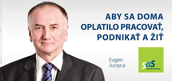 Kandidáti SaS pre voľby 2016 - Eugen Jurzyca