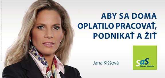 Kandidáti SaS pre parlamentné voľby 2016 - Jana Kiššová