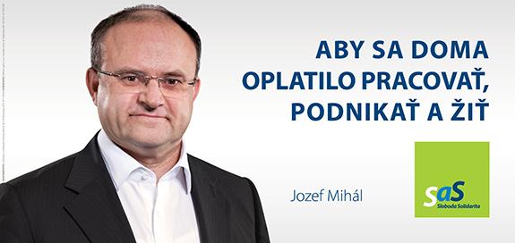 Kandidáti SaS pre voľby 2016 - Jozef Mihál