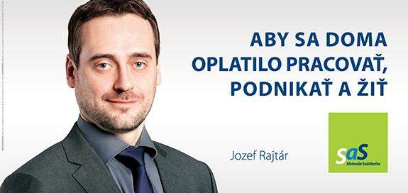 Kandidáti SaS pre voľby 2016 - Jozef Rajtár