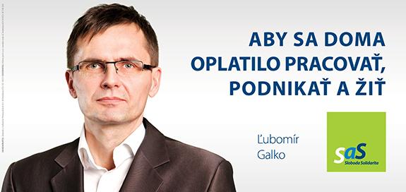 Kandidáti SaS pre parlamentné voľby 2016 - Ľubomír Galko