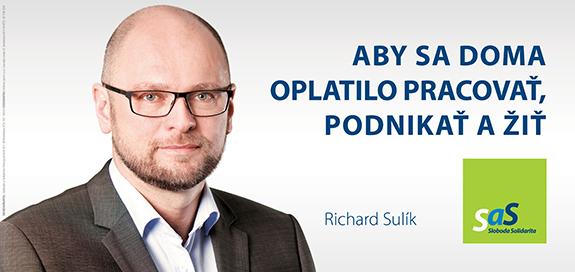 Kandidáti SaS pre parlamentné voľby 2016 - Richard Sulík