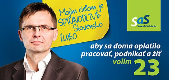 Ľubomír Galko, kandidát na poslanca za SaS | Parlamentné voľby 2016
