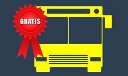 Autobusy zadarmo