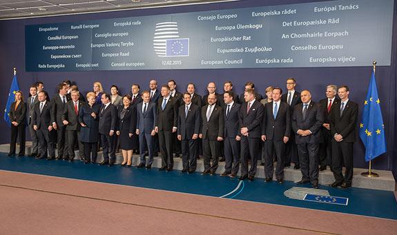 Európski lídri