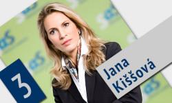 Jana Kiššová - kandidátka za poslankyňu do NR SR | Voľby 2016
