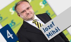 Jozef Mihál - kandidát za poslanca do parlamentu | Voľby 2016