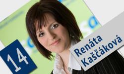Kandidátka na poslankyňu do Národnej rady - Renáta Kaščáková