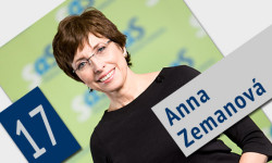 Kandidátka za poslankyňu do NR SR - Anna Zemanová