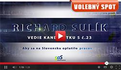 Parlamentné voľby 2016 - Volebný spot Richarda Sulíka