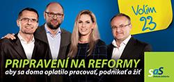 Strana SaS 23 - Parlamentné voľby 2016