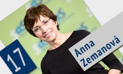 Kandidátka do NR SR Anna Zemanová - Parlamentné voľby 2016