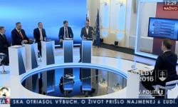 Parlamentné voľby 2016 - Richard Sulík na TA3