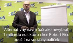 Tretí sociálny balíček - Sulík