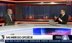 Richard Sulík vTéme dňa na TA3 | Nová vláda bez Smeru – šanca je veľmi nízka, ale nie nulová
