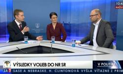 Richard Sulík v povolebnej diskusii na TA3 6.3.2016 | Parlamentné voľby 2016