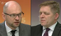 Richard Sulík sRobertom Ficom v RTVS 13.3.2016 | Zostavenie novej vlády