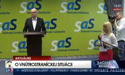 Nový predseda SaS Richard Sulík