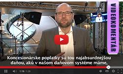 Koncesionárske poplatky - Richard Sulík
