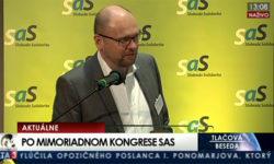 Nový predseda SaS – Richard Sulík