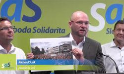 Protesty proti zlodejom vo vláde - Sulík