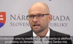Andrej Danko a slušnosť k ženám - Sulík