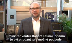 Robert Kaliňák a polícia - Sulík