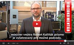 Robert Kaliňák - polícia