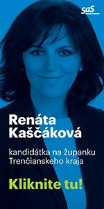 Renáta Kaščáková - Župné voľby Trenčín 2017